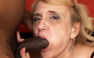 big black dick destroyed 74 years old mom