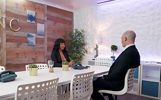 Jenna Foxx gets the occupation unabated not later than interracial nomination making love