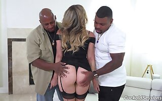 Cory Chase is truly in her orientation presently two black lovers take the reins